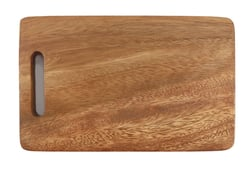 "Acacia Wood Rectangle Chopping Board 6"" x 9.75"""