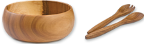 Shop Acacia Wood Salad Bowls and Servers